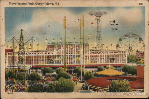 Steeplechase Park Coney Island New York Amusement Parks