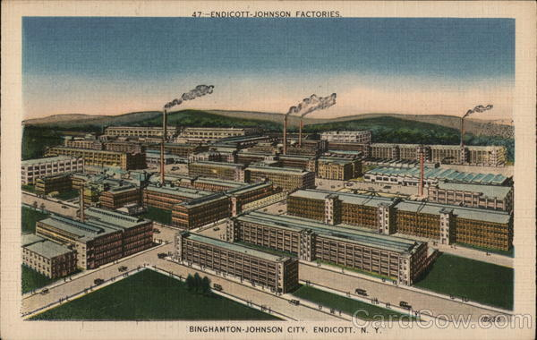 Endicott-Johnson Factories, Binghamton-Johnson City New York