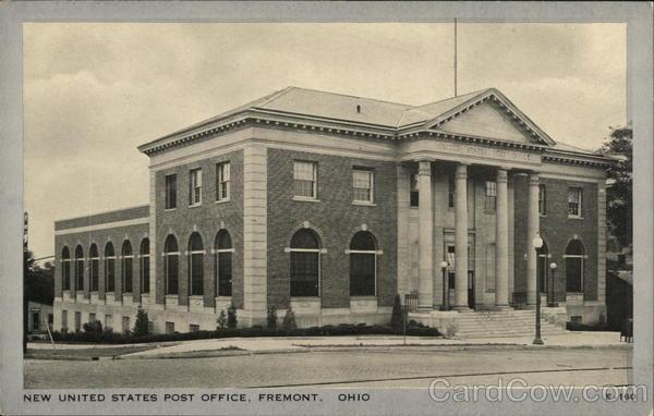 New United States Post Office Fremont Ohio