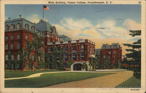 Main Building, Vassar College Poughkeepsie New York