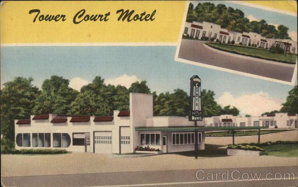 Tower Court Motel Poplar Bluff, MO