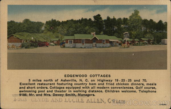 Edgewood Cottages Asheville North Carolina