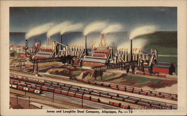 Jones and Laughlin Steel Company Aliquippa Pennsylvania