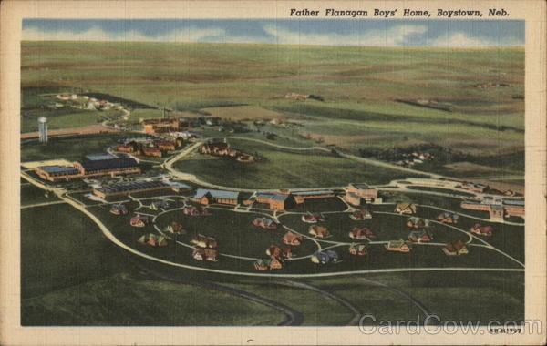 Father Flanagan Boys' Home Boys Town Nebraska