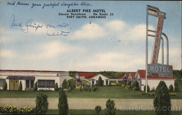 Albert Pike Motel Fort Smith Arkansas