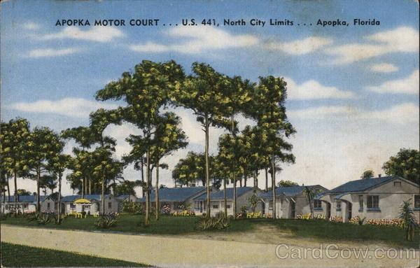 Apopka Motor Court Florida