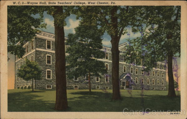 Wayne Hall, State Teachers' College West Chester Pennsylvania