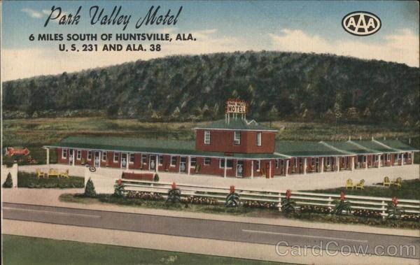 Park Valley Motel Huntsville Alabama