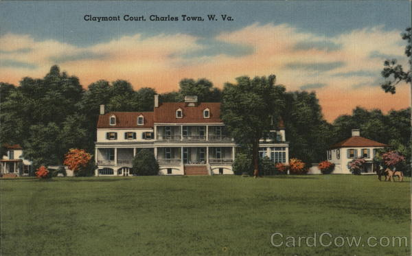 Claymont Court, Charles Town, W. Va. West Virginia