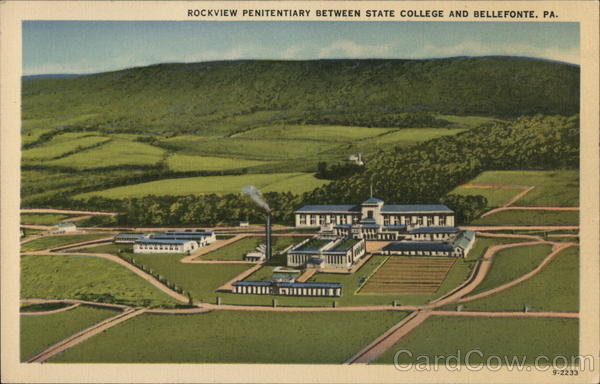 Rockview Penitentiary Bellefonte Pennsylvania Prisons