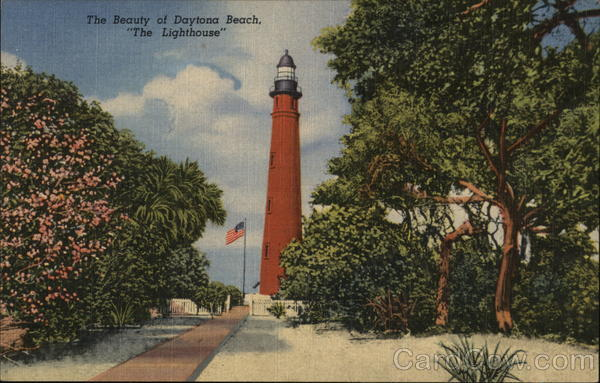 The Beauty of Daytona Beach, The Lighthouse Ponce Inlet Florida