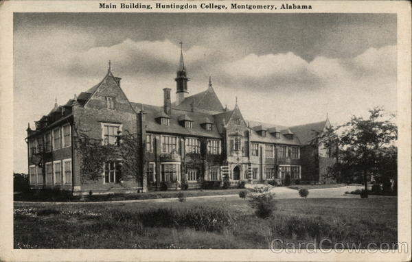 Main Building, Huntingdon College Montgomery Alabama