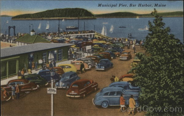 Municipal Pier Bar Harbor Maine