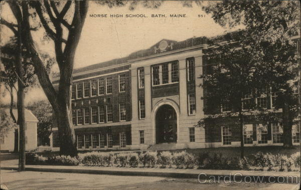 Morse High School Bath Maine