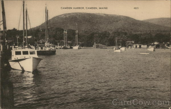 Camden Harbor Maine