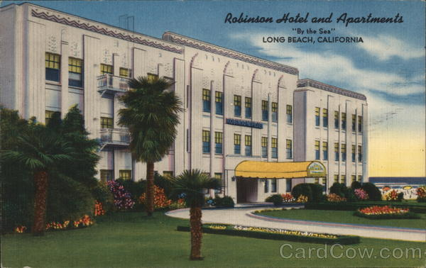 Robinson Hotel and Apartments, By the Sea, Long Beach, California