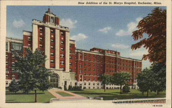 New Additon of the St. Mary's Hospital Rochester Minnesota