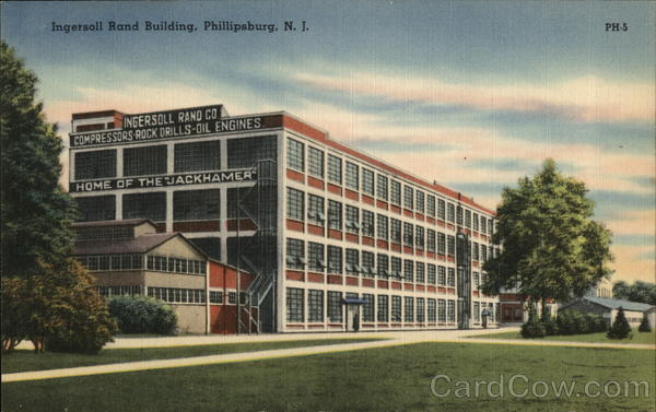 Ingersoll Rand Building Phillipsburg New Jersey