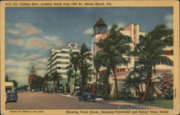 Collins Avenue Miami Beach Florida
