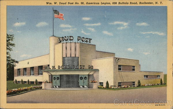 William W. Doud Post 98, American Legion Rochester New York