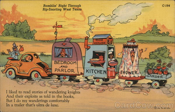 Ramblin' Right Through Rip-Snorting West Texas Trailers, Campers & RVs