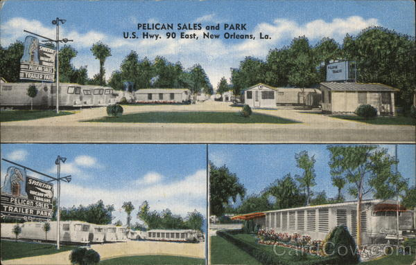 Pelican Sales and Park New Orleans Louisiana Trailers, Campers & RVs