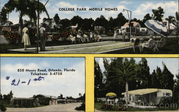 College Park Mobile Homes Orlando Florida Trailers, Campers & RVs
