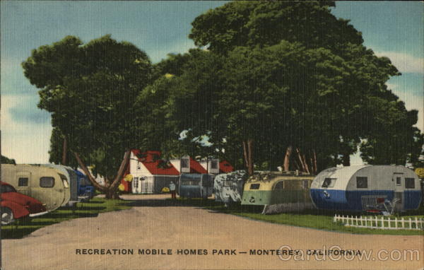 Recreation Mobile Homes Park Monterey California Trailers, Campers & RVs