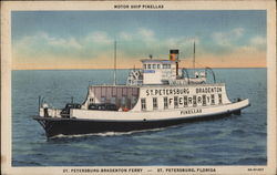 Motor Ship Pinellas, St. Petersburg-Bradenton Ferry