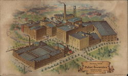 Aerial View of the Pabst Breweries