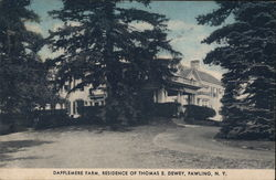 Dapplemere Farm, Residence of Thomas E. Dewey