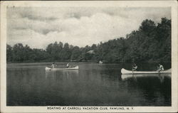 Boating at Carroll Vacation Club