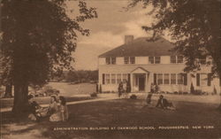 Administration Building at Oakwood School
