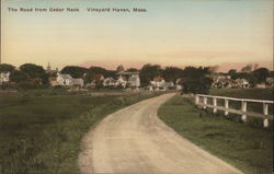 The Road from Cedar Neck