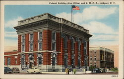 Federal Building, Post Office, and Y. M. C. A. Postcard