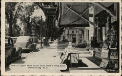 View of Upper Main Street from Dean's Drug Store
