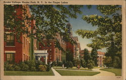 Keuka College, In the Finger Lakes Postcard