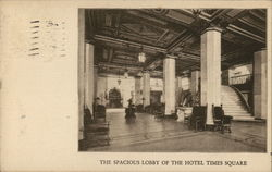 Spacious Lobby of Hotel Times Square