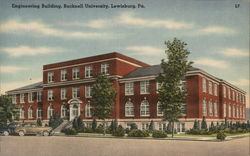 Engineering Building, Bucknell University Postcard