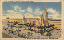 Main Portal and Exposition Tower, Treasure Island