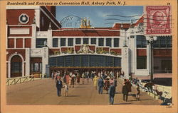Boardwalk and Entrance to Convention Hall