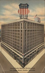 Union Pacific Railroad Headquarters Omaha, NE Postcard