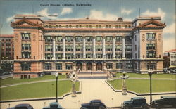 Court House Omaha, NE Postcard