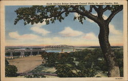 South Omaha Bridge Between Council Bluffs, Ia. and Omaha, Neb.