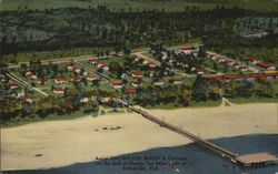 Aerial View, Wilson Beach and Cottages