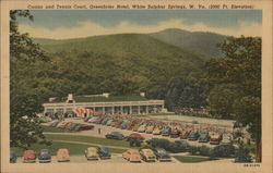 Casino and Tennis Court, Greenbrier Hotel, 2000 Ft. Elevation