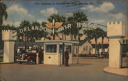 Entrance to Orlando Air Base, Orlando, Fla.
