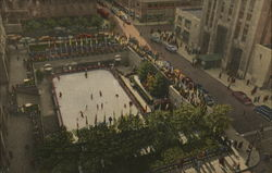 The Rockefeller Plaza Outdoor Ice Skating Rink