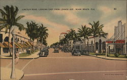 Lincoln Road, Looking East From Lennox Ave.
