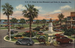 Ponce de Leon Monument and Circle